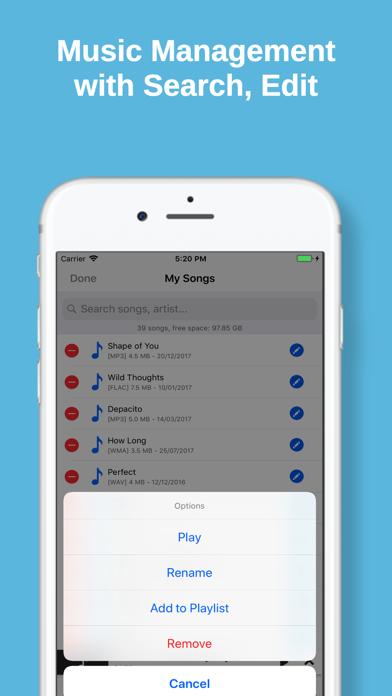 Cloud Music MP3 Offline Player by Le Thi Sau (iOS, United