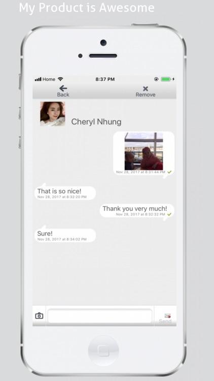 BomBom : Secret Chat, Send SMS by Van Duc Do