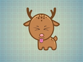 Sticker Me Lovely Fawn