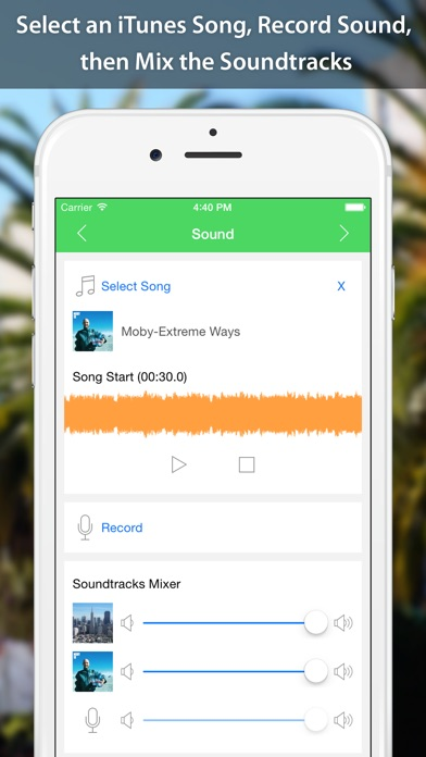 Screenshot for VideoSound - Music to Video in Chile App Store