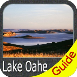Lake Oahe - Dakota GPS fishing chart & map offline