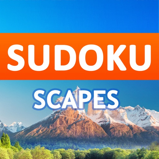Download Sudoku Scapes free for iPhone, iPod and iPad