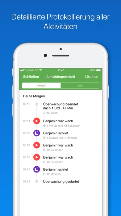Screenshot for Babyphone 3G in Germany App Store