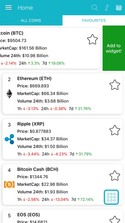 Cryptocurrency Prices & Charts screenshot-8