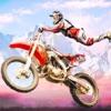 Dirt Bike Race Motocross Stunt App Icon