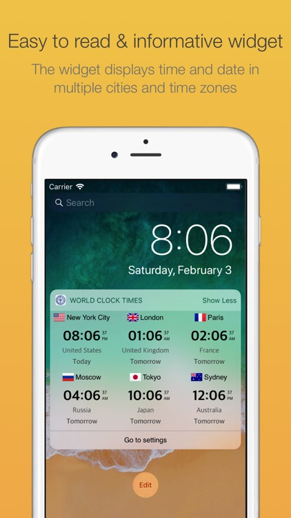World Clock Time Today Widget screenshot-3