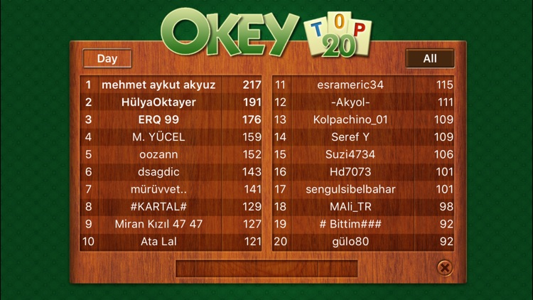 Okey 101 screenshot-4