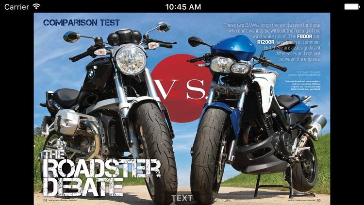 BMW Motorcycle Magazine screenshot-3