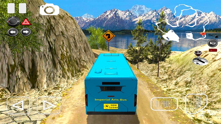 Off-road Bus Driving Simulator