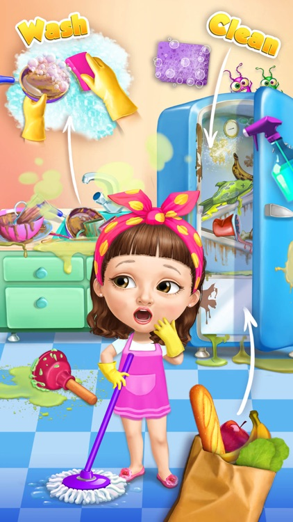 Sweet Baby Girl Cleanup 5 - No Ads screenshot-0