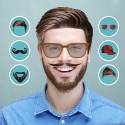 Men Hair Style Mustache Photo Editor