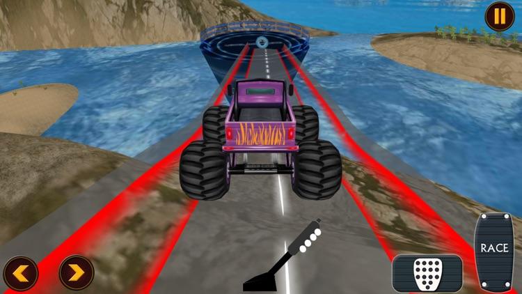 Crazy Monster Truck Drive screenshot-4