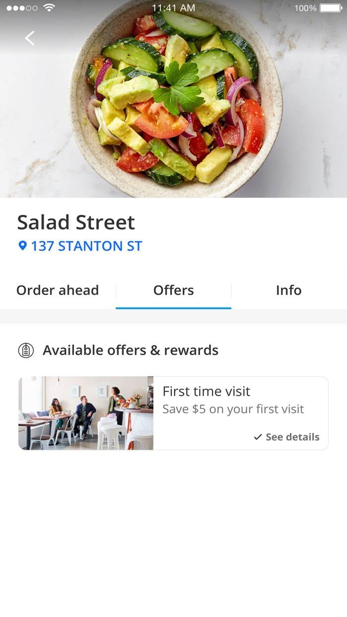 Chase Pay®   Earn, Save, Order Screenshot