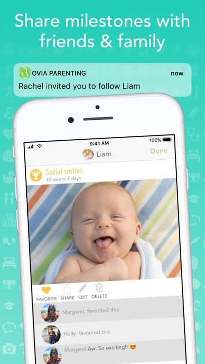Ovia Parenting - Baby Tracker screenshot-4