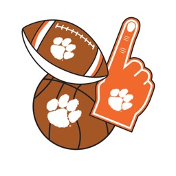 Clemson Tigers Selfie Stickers