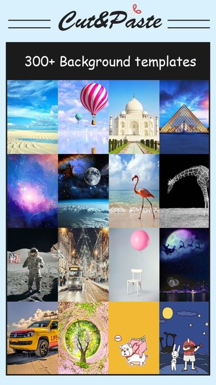 Cut & Paste Photo Blender - Superimpose Pics screenshot-3