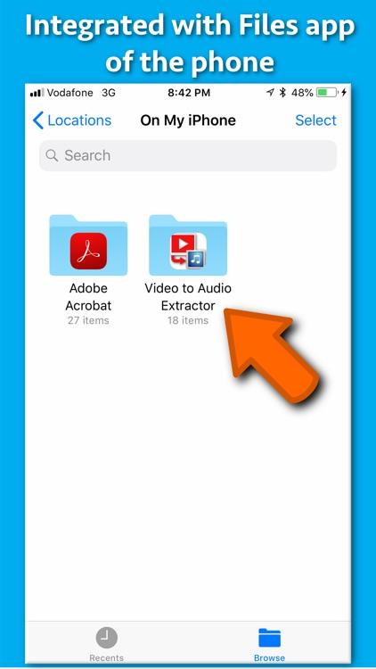 Video to Audio Extractor screenshot-5