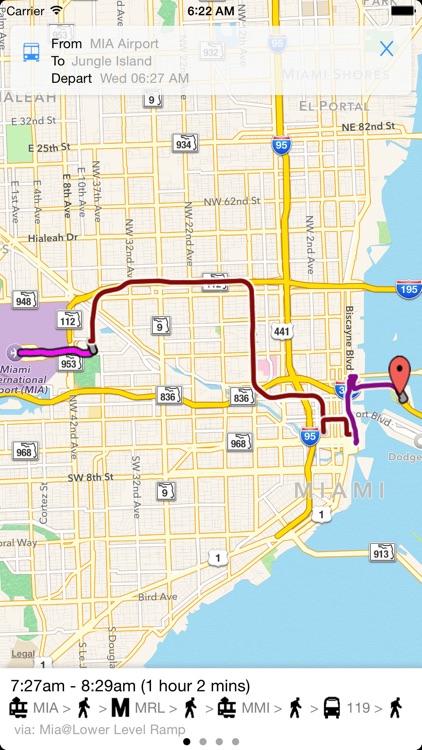 Transit Tracker - Miami Dade screenshot-3