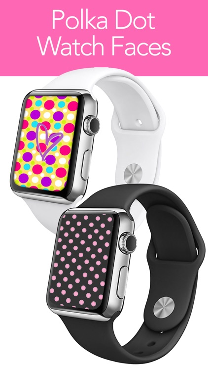 Polka Dot My Watch - iFace, Backgrounds, Wallpaper