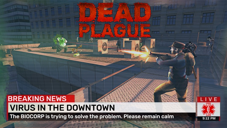 DEAD PLAGUE: Zombie Survival screenshot-4