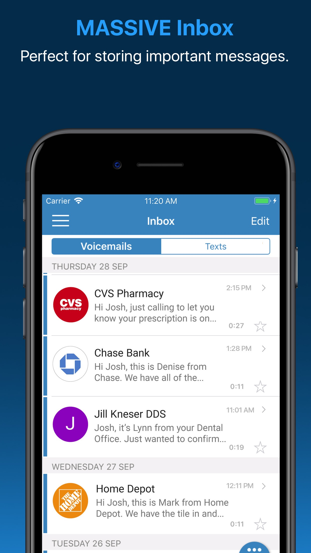 YouMail: Voicemail Upgrade Screenshot