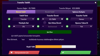 Screenshot for Football Manager 2019 Mobile in Turkey App Store