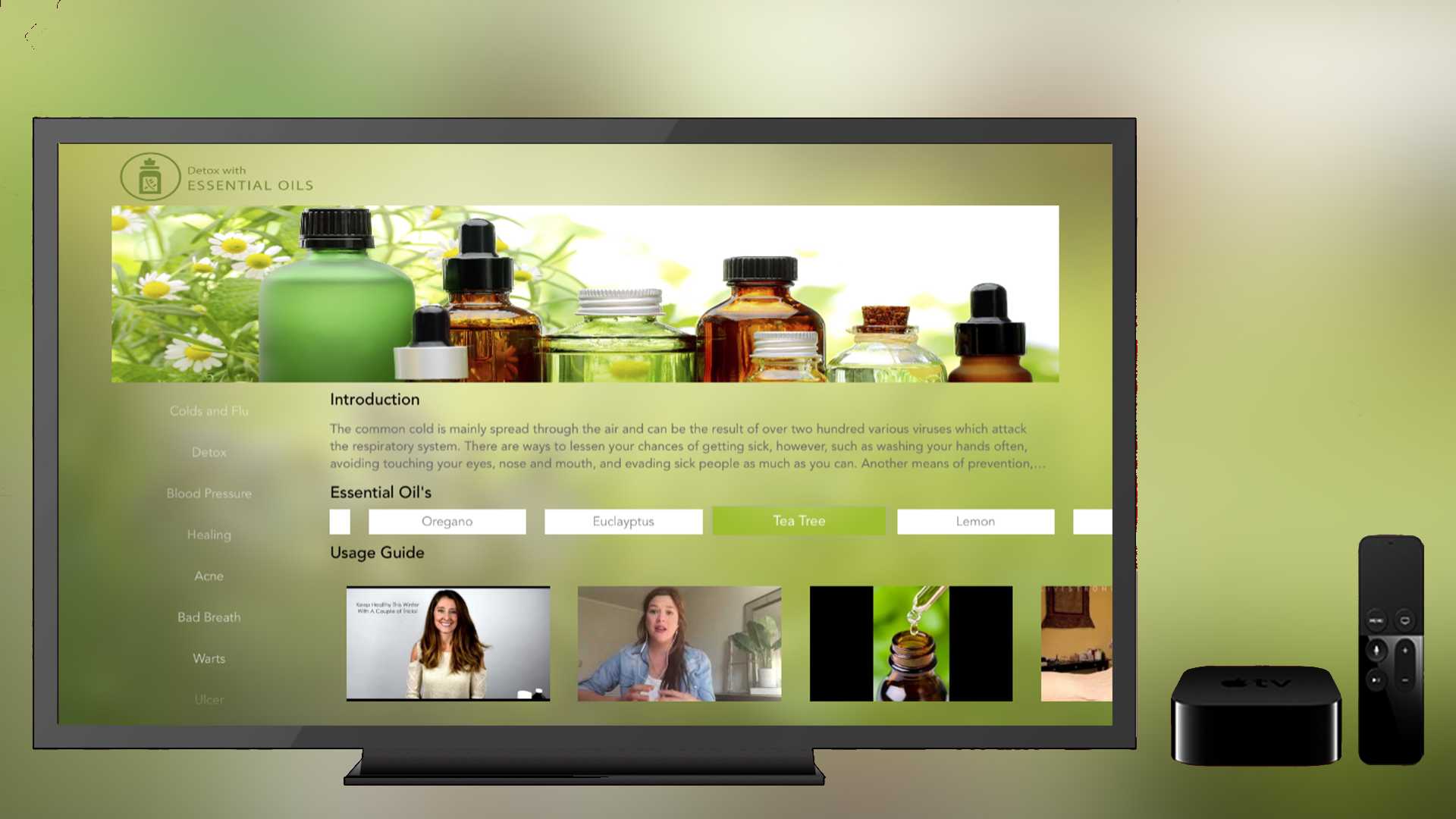 Detox with Essential oils screenshot 1