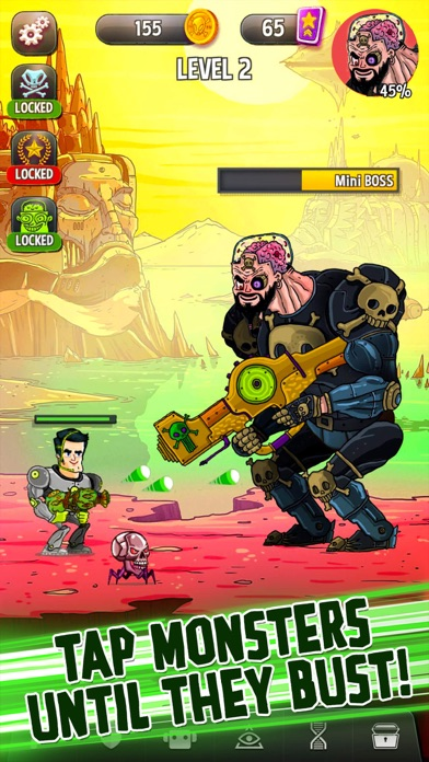 Tap Busters: Bounty Hunters screenshot 1