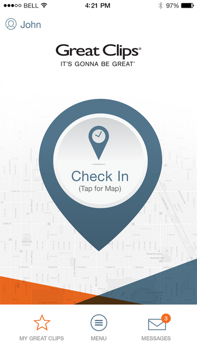 Great Clips Online Check-in Screenshot