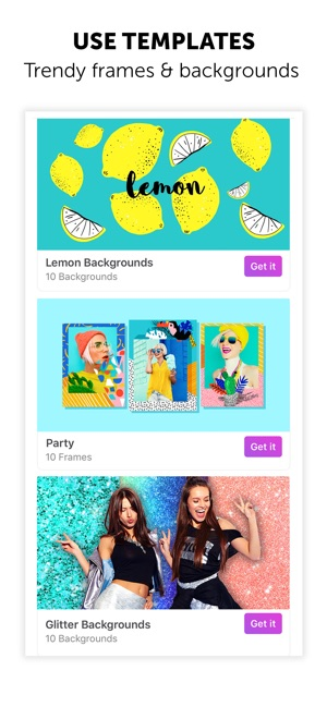 PicsArt Photo Editor + Collage Screenshot