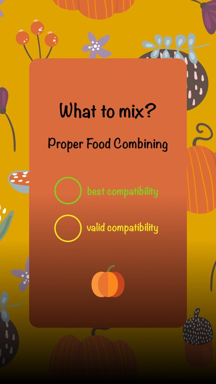 What to mix? : Food Scheme