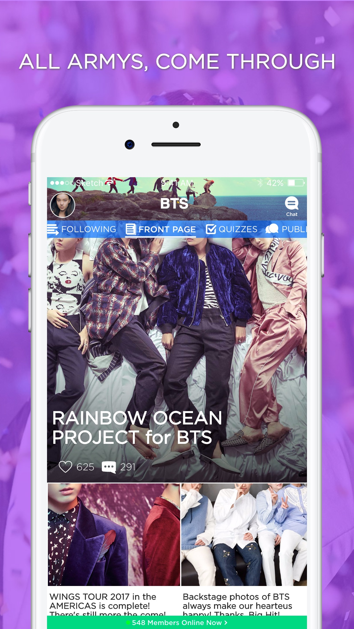 ARMY Amino for BTS Stans Screenshot