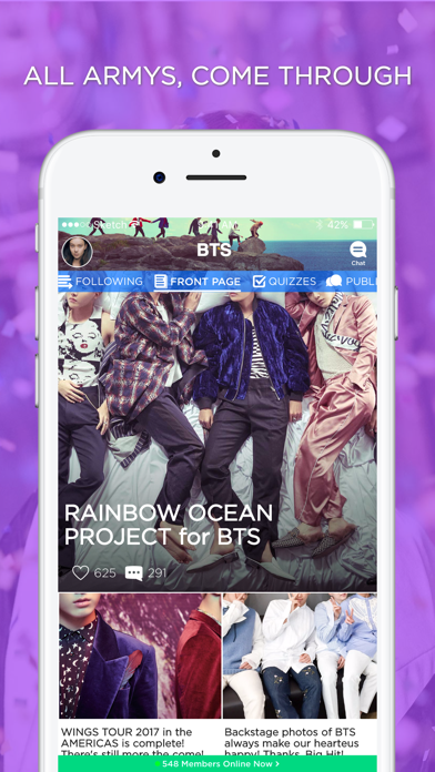 ARMY Amino for BTS Stans-0