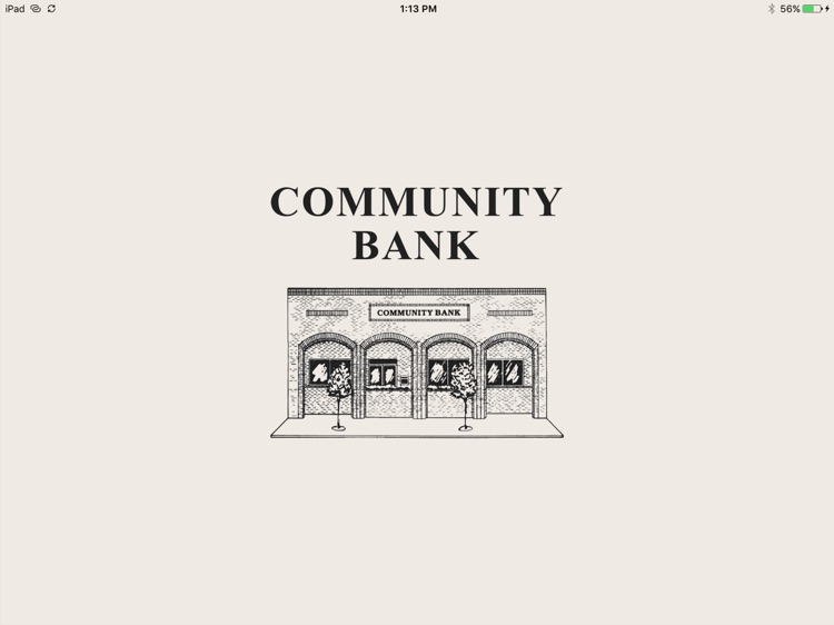 Community Bank – Avon for iPad