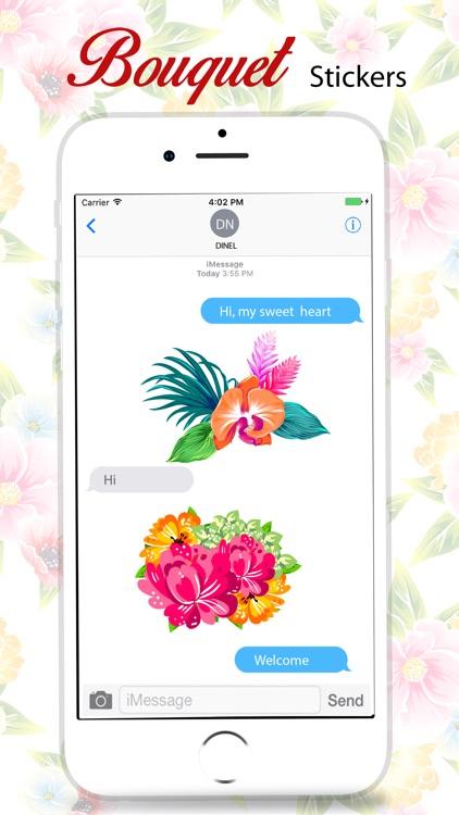 Bouquet Stickers Pack screenshot-3