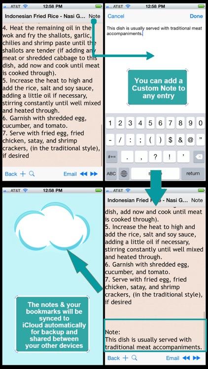 Indonesian Cuisine Recipe screenshot-3