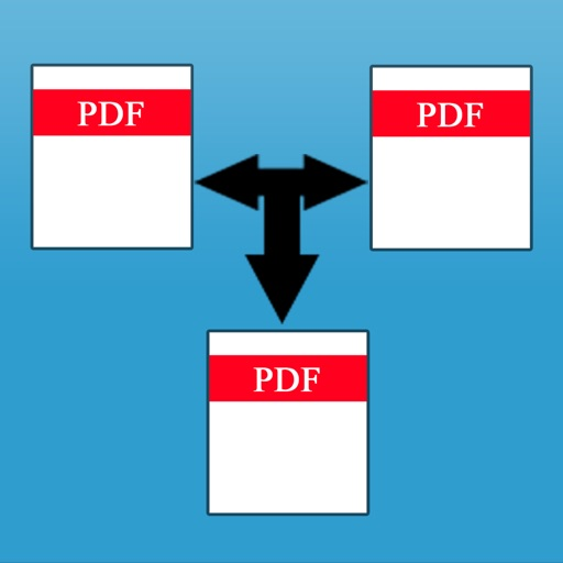 Combine and Join PDF iOS App