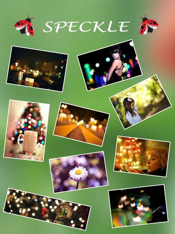 Screenshot #1 for Speckle - Lens bokeh