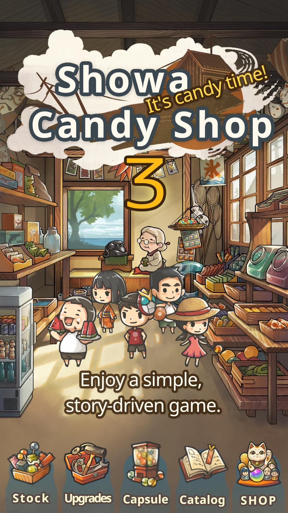 Showa Candy Shop 3 Cheat Codes
