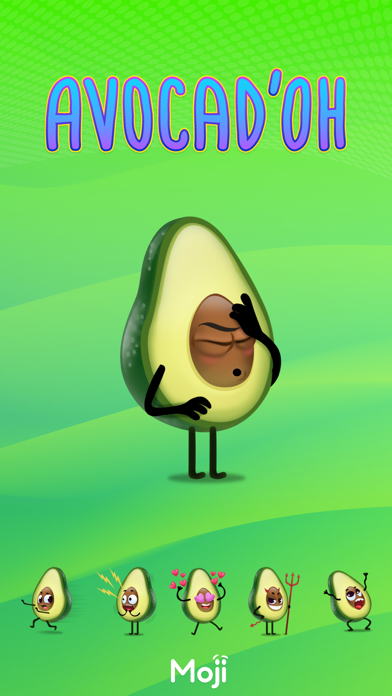 Avocad'oh by Moji screenshot 1