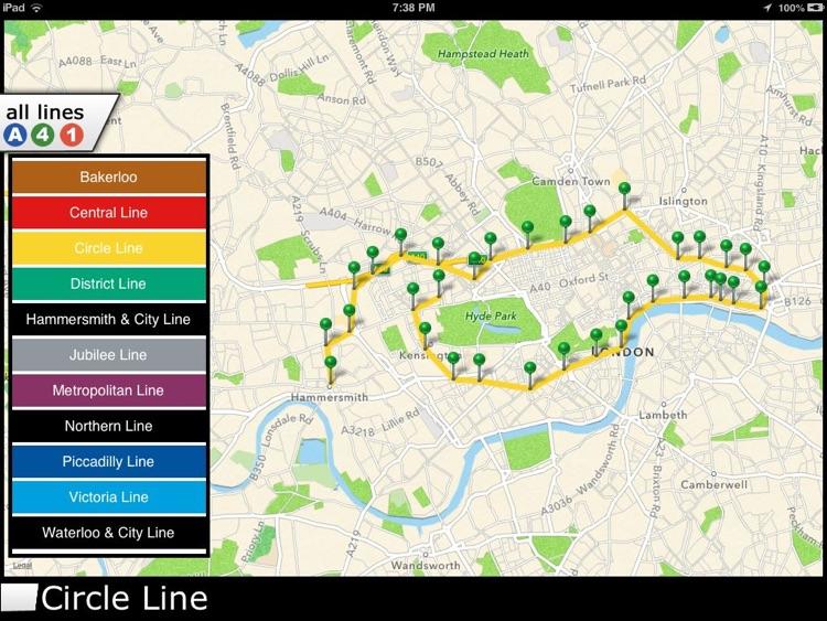London Underground HD screenshot-3