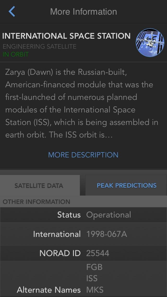 SkyView® Satellite Guideのおすすめ画像5