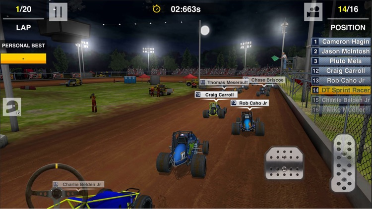 Dirt Trackin Sprint Cars screenshot-3