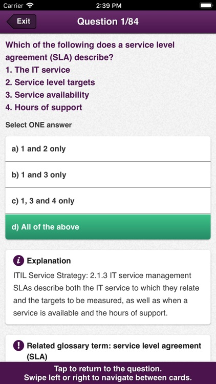 Official ITIL Exam App - India