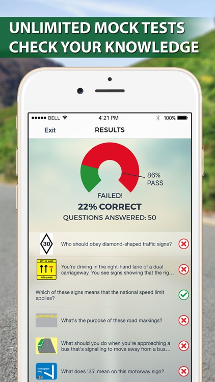 Motorcycle Theory Test UK Lite screenshot-4