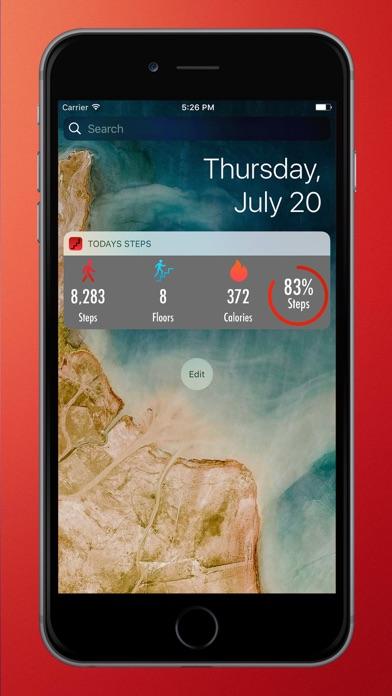 Next Step - Health App Screenshot on iOS