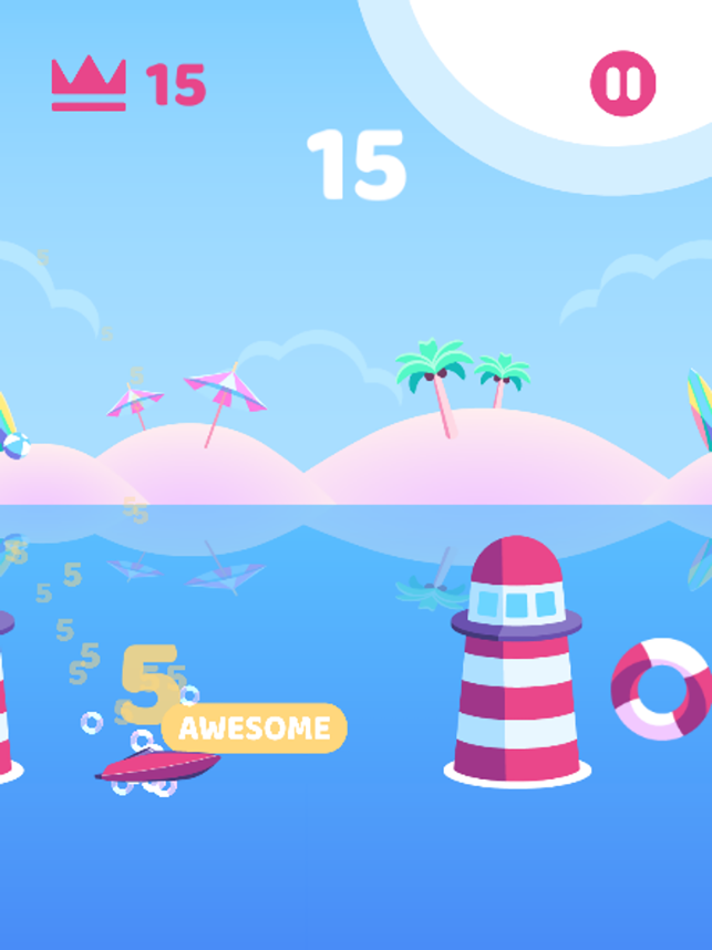 Boat Flip, game for IOS