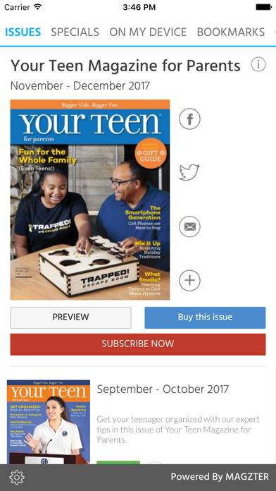 Your Teen Magazine for Parents screenshot 1