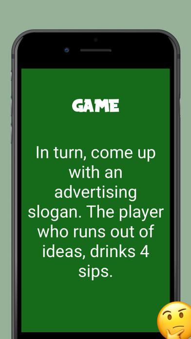 Picolo drinking game Screenshot