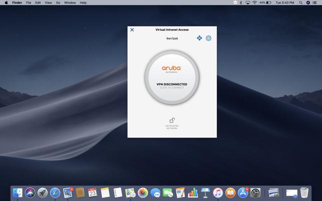 Aruba VIA on the Mac App Store
